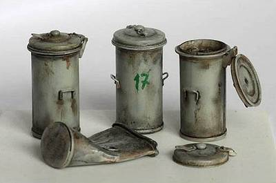Diorama Accessories: Trashcan