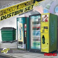 Vending Machine & Dumster Set