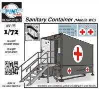 Container Sanitärblock 30, WC- & Abwassercontainer