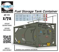 Fuel storage container, 22,5 cbm
