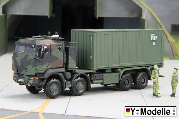 IVECO GTFz 15 to., Containertransporer mit 20 FT Container