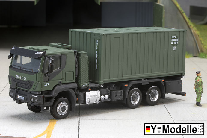 IVECO AT 260W, 6x6, FPS, Containertransporter mit 20FT Container