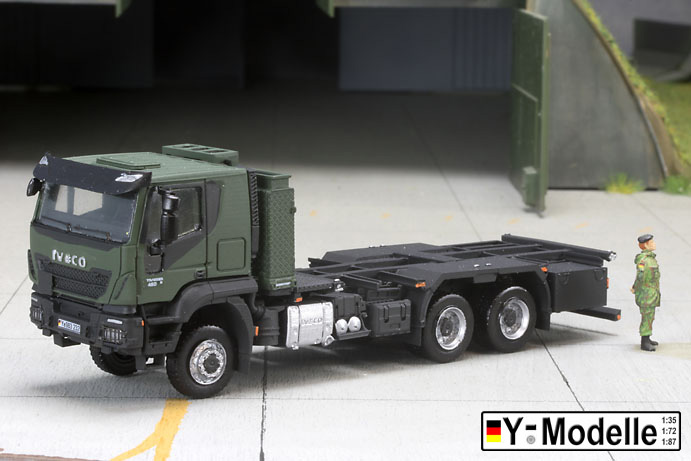 IVECO AT 260W, 6x6, FPS, Containertransporter