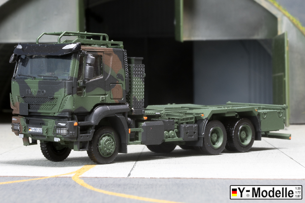 IVECO AT 260W, 6x6, FTA, Containertransporter