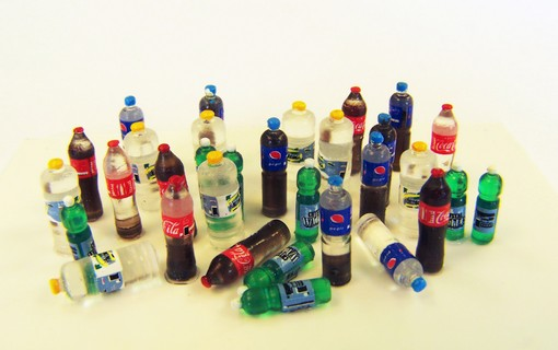 Diorama equimment: PET bottles