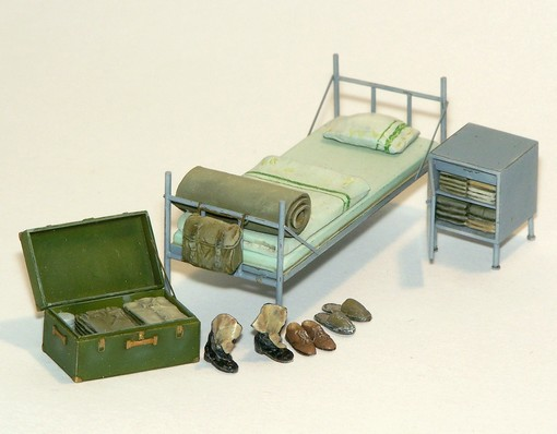 Diorama equipment: Accessoires for barracks